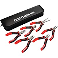 CRAFTSMAN Pliers, 6-Piece Mini Set with Pouch (CMHT81716)