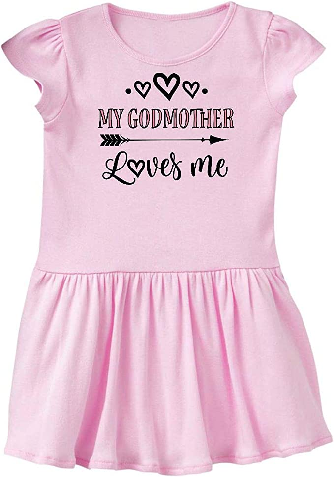 Toddler//Kids Ruffle T-Shirt My Godmother in Missouri Loves Me