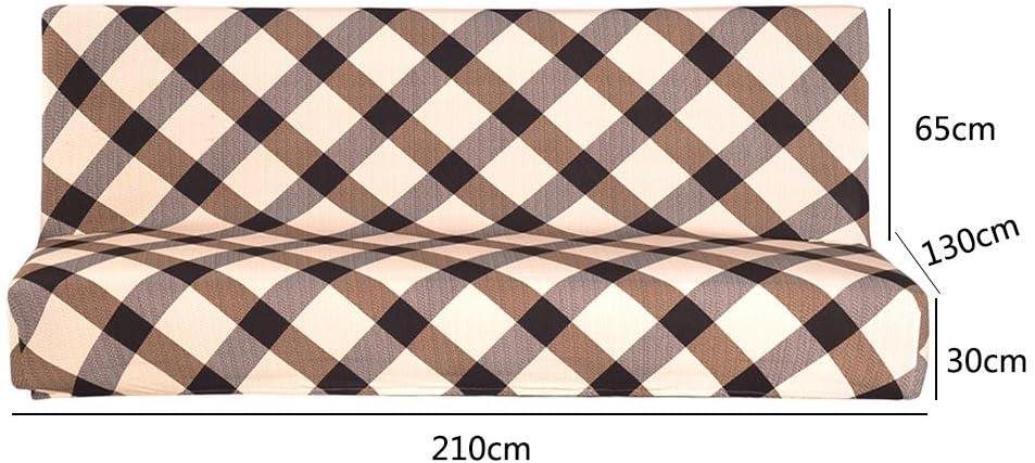 Demiawaking Fold Housse de canap/é /élastique Plaid Canap/é clic-clac Jouets sans accoudoirs