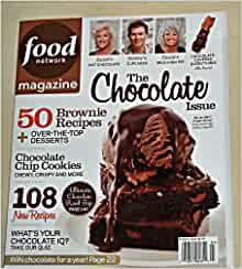 Food network magazine march 2012 the chocolate issue for Food network magazine phone number customer service