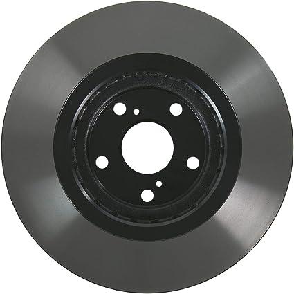 5396E Front Premium Black E-Coat Rotor Pair of 2