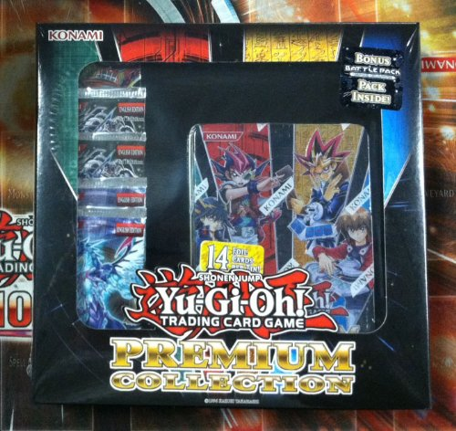 Yugioh Premium Collection Box - Includes 1 Premium Collection Tin + 5 Booster Packs