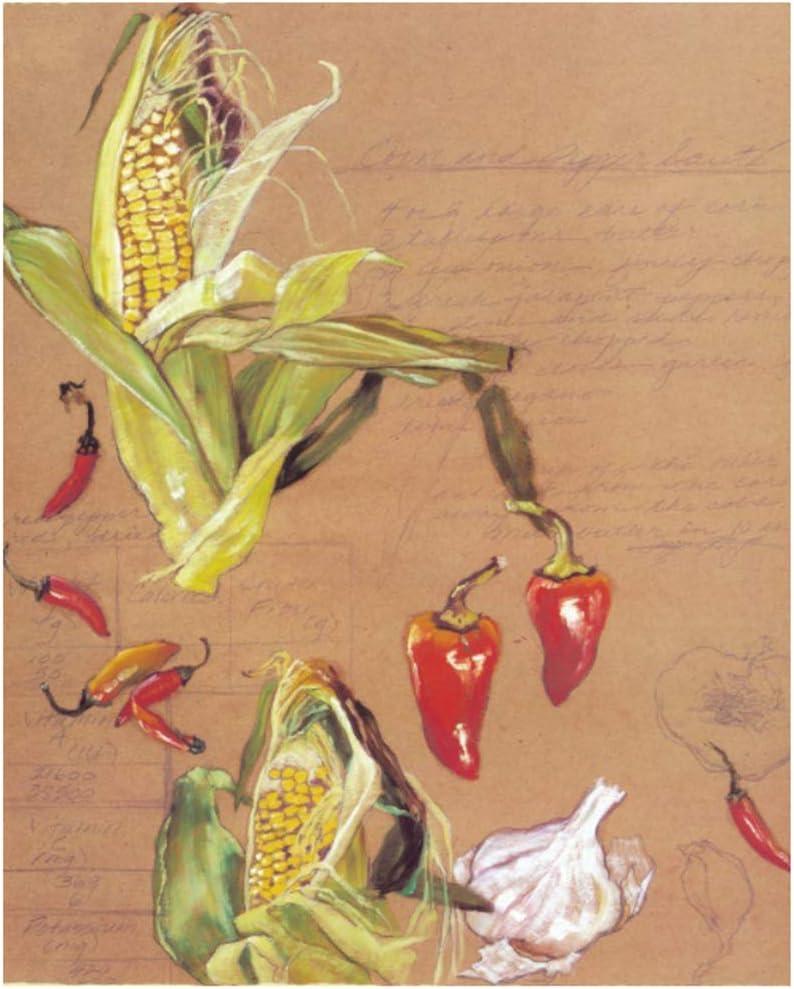Cuadro en lienzo impresión Verduras y frutas bodegones Obra Cartel Imagen Arte de la pared Decoración moderna del hogar 30x50 cm / 11.8