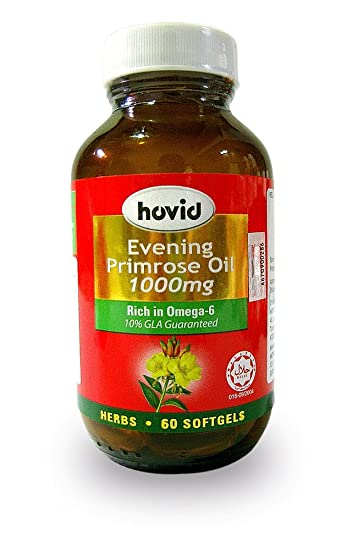 Amazon.com: hovid Evening Primrose – 1000 mg de aceite ...