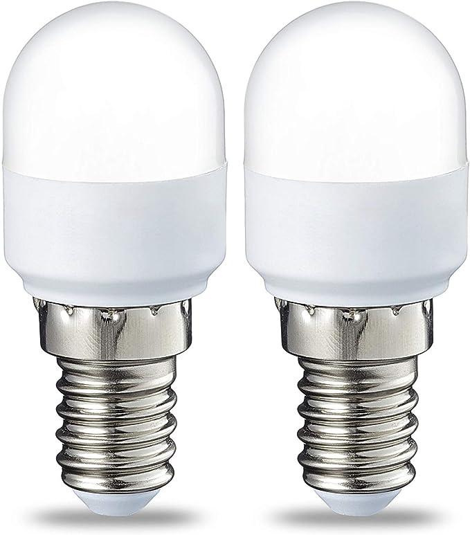 AmazonBasics Bombilla LED T25 E14, 1.7 W (equivalente a 15W), Blanco Cálido, 2 unidades: Amazon.es: Iluminación