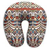 Gtrgh American India Ethnic Aztec Pattern Super U Type Pillow Neck Pillow Outdoor Travel Pillow Relief Neck Pain