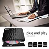 Wsky USB 3.0 External CD DVD Drive, CD/DVD-RW