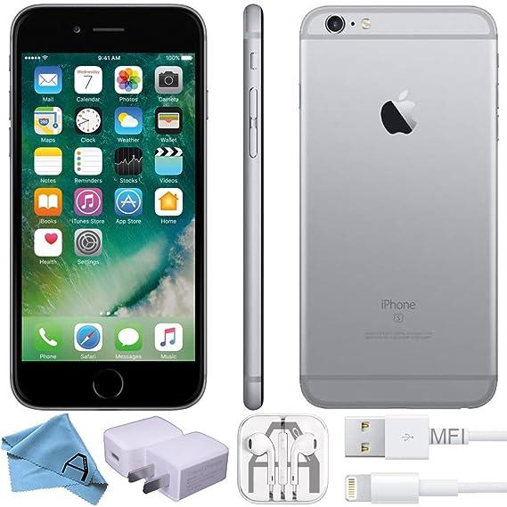 Apple iPhone 6S, GSM Unlocked, 128GB - Space Gray (Renewed)