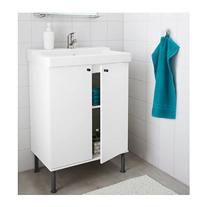 Amazon Ikea Fullentalleviken Sink Cabinet White 69891447