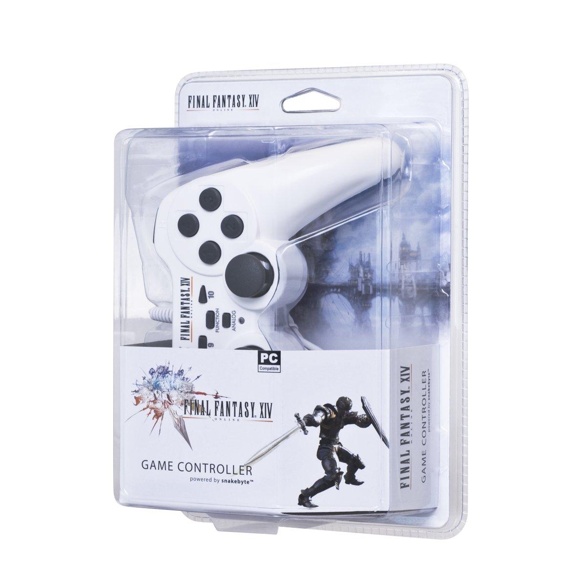 Amazon com: Snakebyte Final Fantasy XIV PC Controller (SB 000009