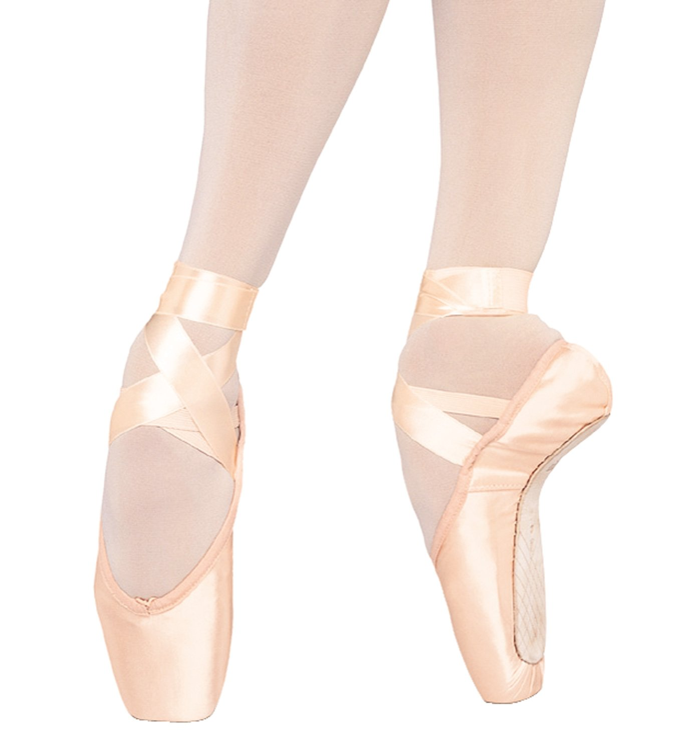 Bloch Women's Serenade Pointe Comfort Ballet Flats B004NMEWXC 7 C|Pink