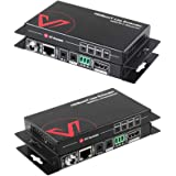 AV Access Professional UHD 4K60Hz (HDBaseT) HDMI Extender Up to 70M(230ft) , 4K@30Hz HDR10 and 3D, Zero Latency over Cat5e/6a