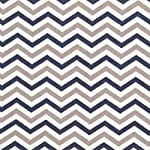 Trend-Lab-Chevron-Deluxe-Flannel-Fitted-Crib-Sheet-Navy-and-Gray