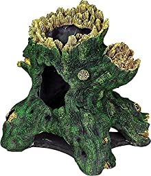 Exotic Environments Hollow Tree Stump Aquarium Ornament