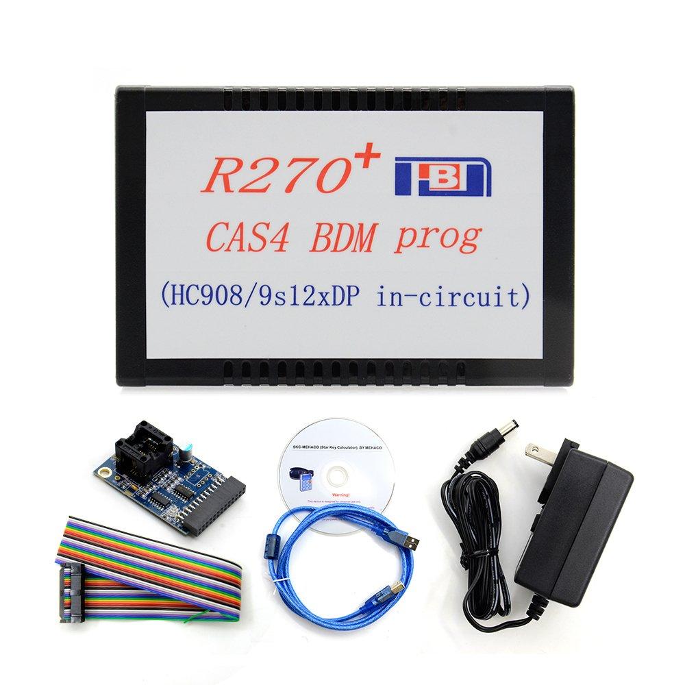 R270 BMD R270+ V1.20 Auto CAS4 BDM Auto Key Programmer Professional Key Prog Car Diagnostic For BMW 2001-2009