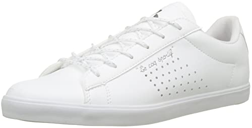 Le Coq Sportif Agate Metallic Optical White, Zapatillas para Mujer: Amazon.es: Zapatos y complementos