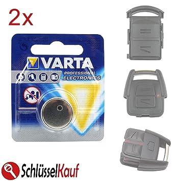2x TASTER NEU passend für Opel Astra Corsa Meriva Zafira Autoschlüssel Gehäuse
