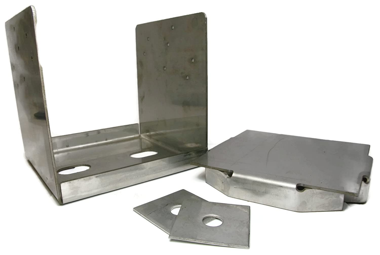 Decking Post Base 316 Stainless Steel 8x8 PAU88 ABU88 Post Anchor