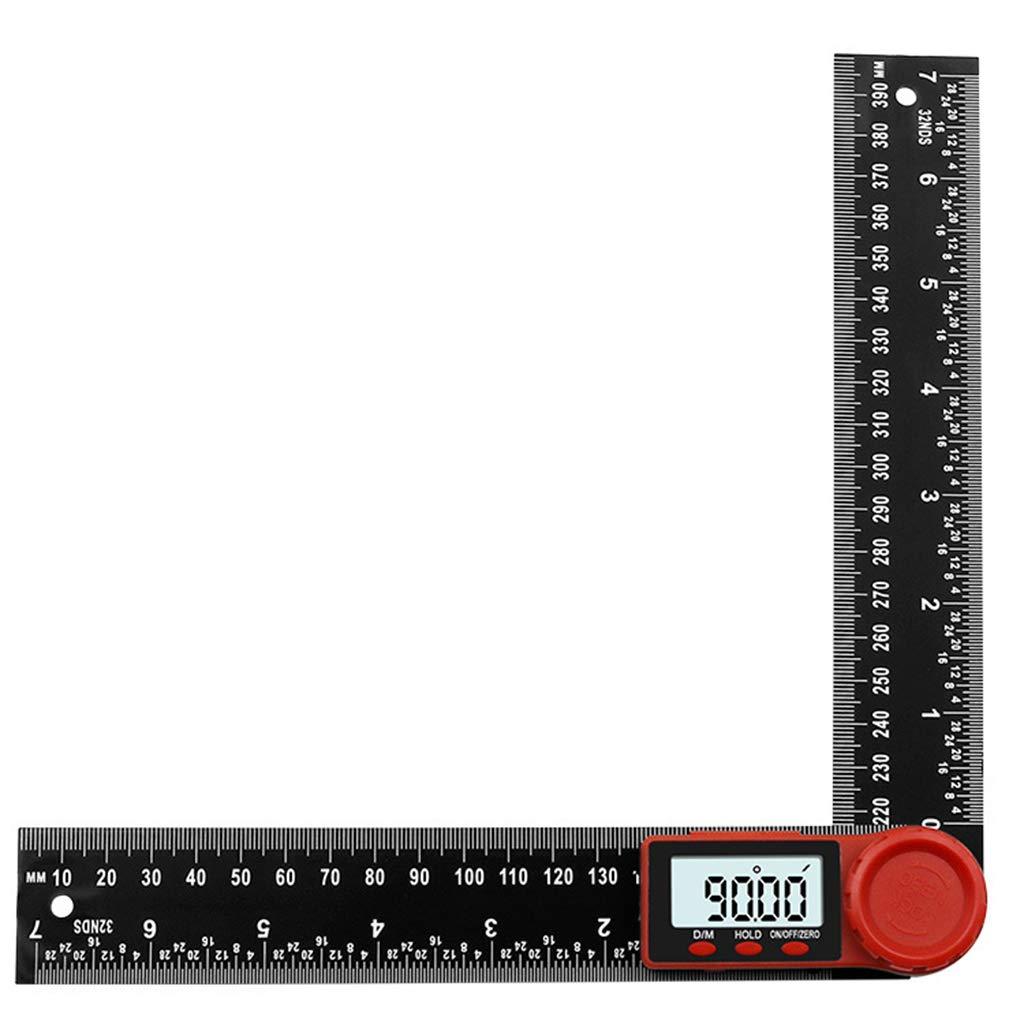 Guangtian Winkelmesser 2in1 Digital Winkelmesser Finder Lineal F/ür Crown Trim Holzbearbeitung 7200mm