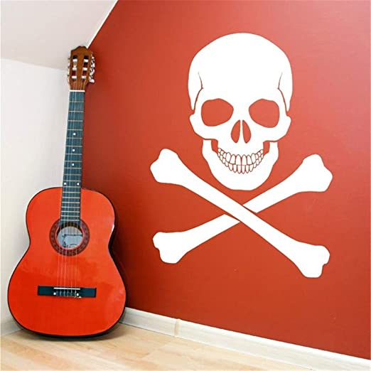 fenceweb Personalidad Horror Pirata Calavera Sticker Home Art ...