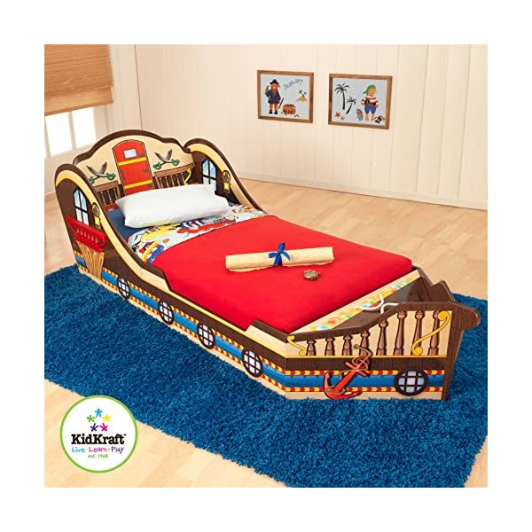 KidKraft Toddler Pirate Bed 2