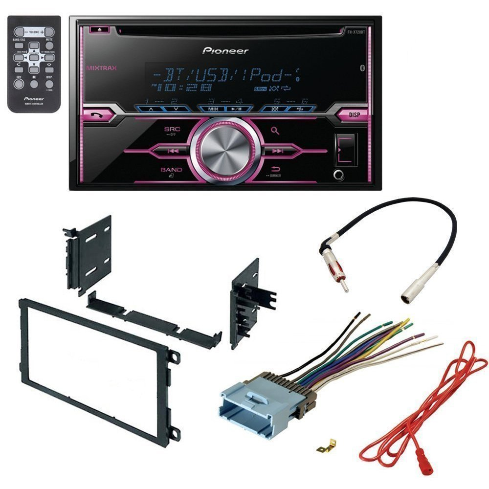 amazon com: chevrolet 2003-2006 silverado 2500 hd car radio stereo cd player  dash install mounting kit harness - package deal: car electronics