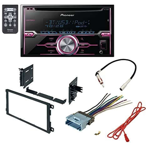pioneer car stereo harness wiring red wire