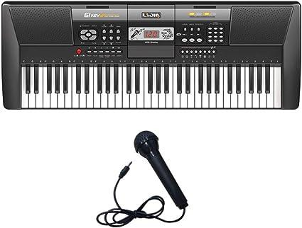 Niños Adultos con Teclado Electrónico, Juguete Musical para ...