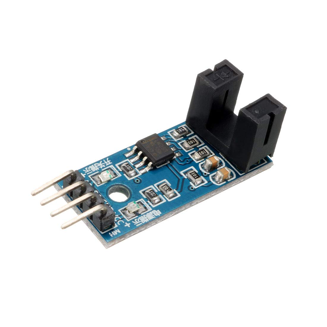 uxcell Speed Sensor Module Slot Type IR Optocoupler LM393 for