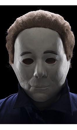 Amazon.com: Rubie's Men's Halloween 4 Michael Myers Mask, Multi ...