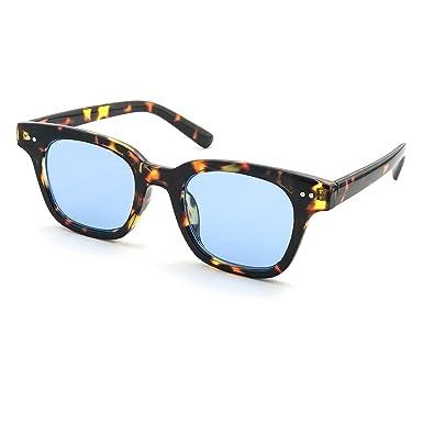Kiss Lunettes de soleil STYLE MOSCOT mod. BOXER Gradient homme - femme de la mode VINTAGE unisexe - NOIR/bleu 6G9R8N1qL