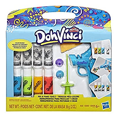 DohVinci Mix and Make Tools by Play-Doh Brand: Toys & Games