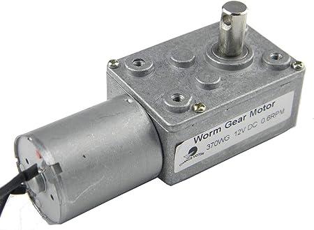 12V200rpm Motoriduttore a Turbocompressore ad Alta Torque Motore di Riduzione 15//30//50//100//200RPM