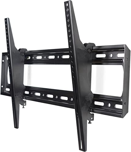 VideoSecu Tilting Large Big TV Wall Mount for 60 65 68 70 75 78 80 , Some Models up to 85 90 LED LCD Plasma HDTV Flat-Panels – Heavy Capacity up to 220 lbs MP804B C06