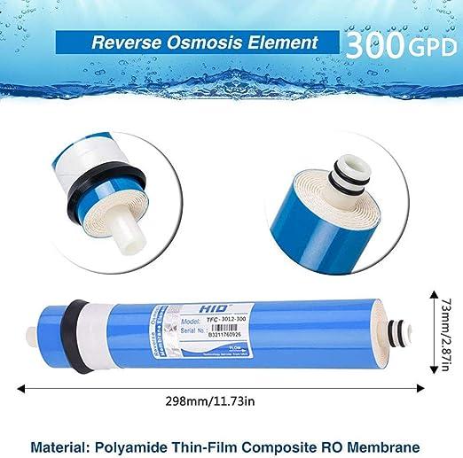 CXQZLH -3003012GPD Purificador De Agua De Membrana De Ósmosis ...