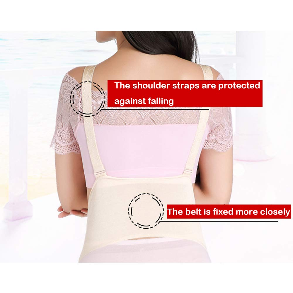 Cloth + Double Shoulder Strap Silicone Fake Belly Adult Abdominal Filling ,2To4months Suitable For Role-Playing And Fake Pregnant Women The Shoulder Strap Is Firmer Artificial Belly Fake Pregnancy