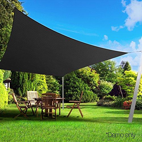 UPC 699972431754, Belle Dura Brown sun shade sail 10'x13' for Patio Lawn Garden, High Density Sail Shade Canopy for Pergola Balcony Camping(10'x13', Brown)