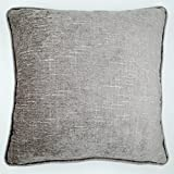 Best Pillow Case For Couches - Decorative Cushion Cover Pillow Case - Grey Chenille Review