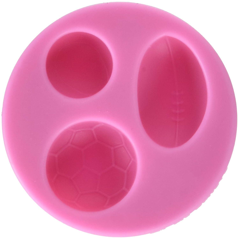 DeColorDulce Balones Molde de Corte de Silicona, Rosa, 6 x 6 x 2 ...