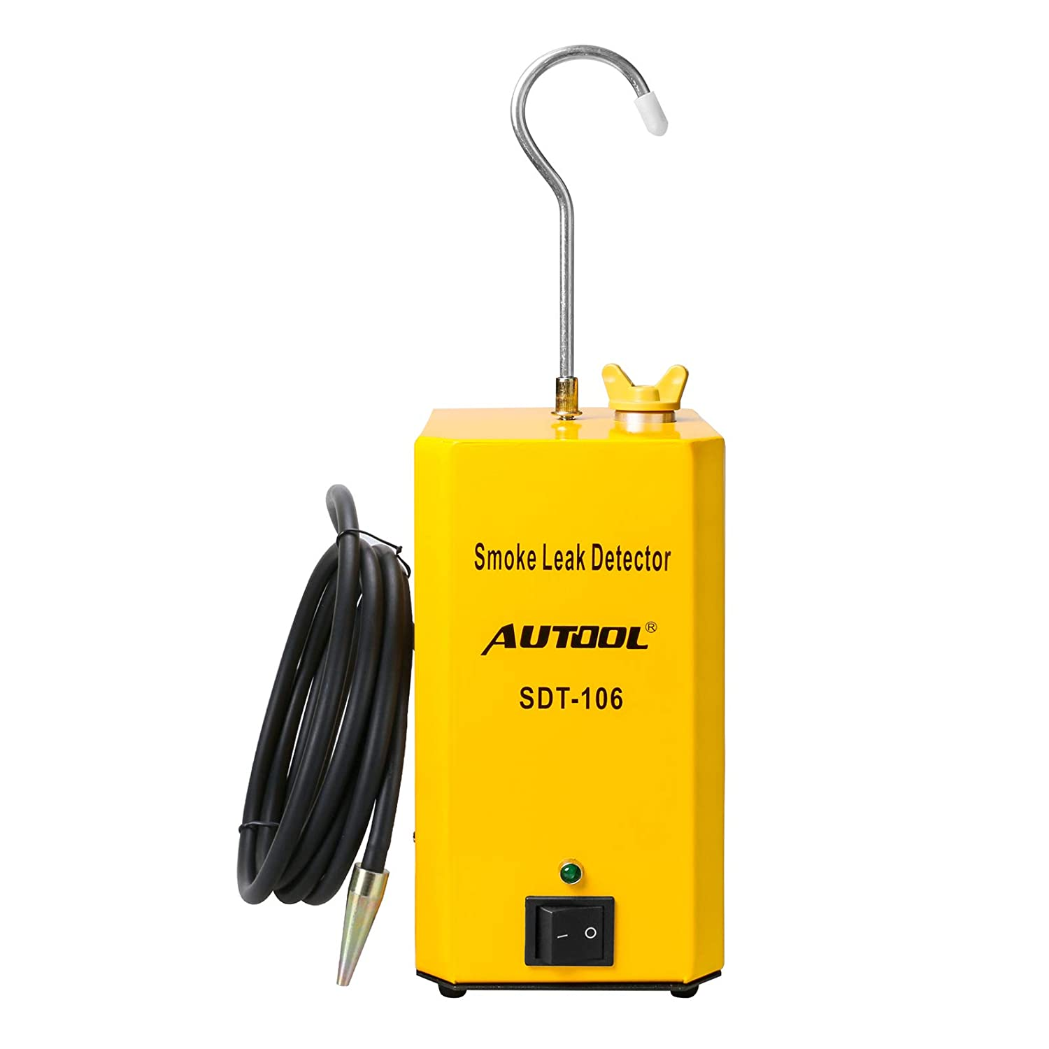 AUTOOL SDT-106 Automotive EVAP Leaks Testing Machine Fuel Leak Detectors 12V Car Leak Locator Tester for All Vehicle EVAP Smoke Machine