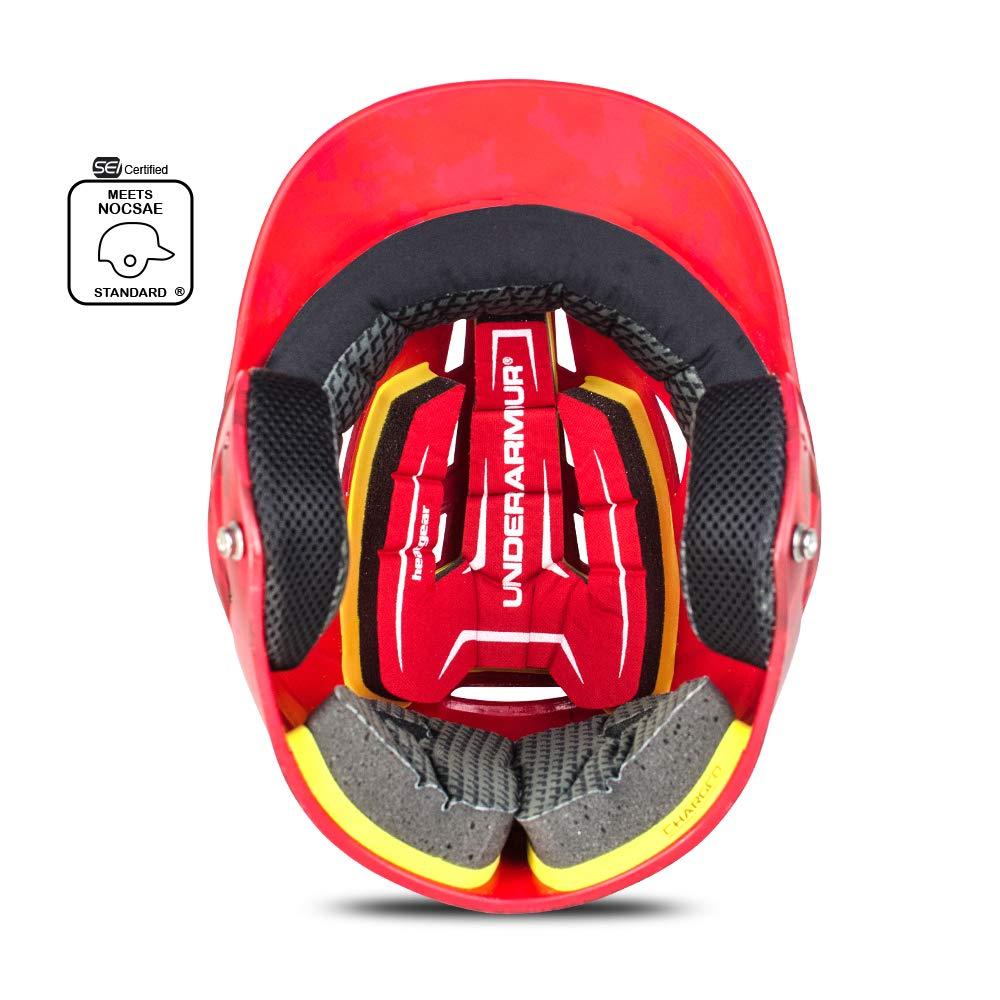 Under Armour Converge Batting Helmet - Matte Painted