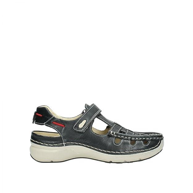329668f9541a Wolky Rolling Sommer 07201 Damen Sandalen  Amazon.de  Schuhe   Handtaschen