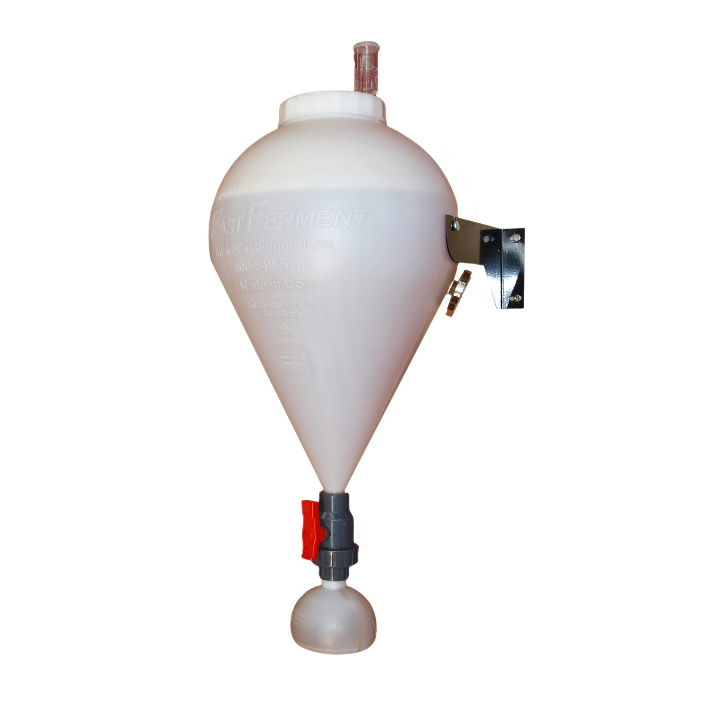 FastFerment ffw Plastic Conical Beer Fermenter, 7.9 Gallon Starter, White by FASTFERMENT