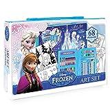 Malette d'artiste de peinture et coloriage Reine des neiges Frozen 68 pcs - Loisirs créatifs