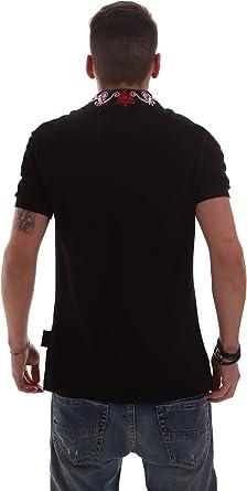 Versace Jeans B3GVB7PB36571899 Polo Hombre Negro M: Amazon.es ...