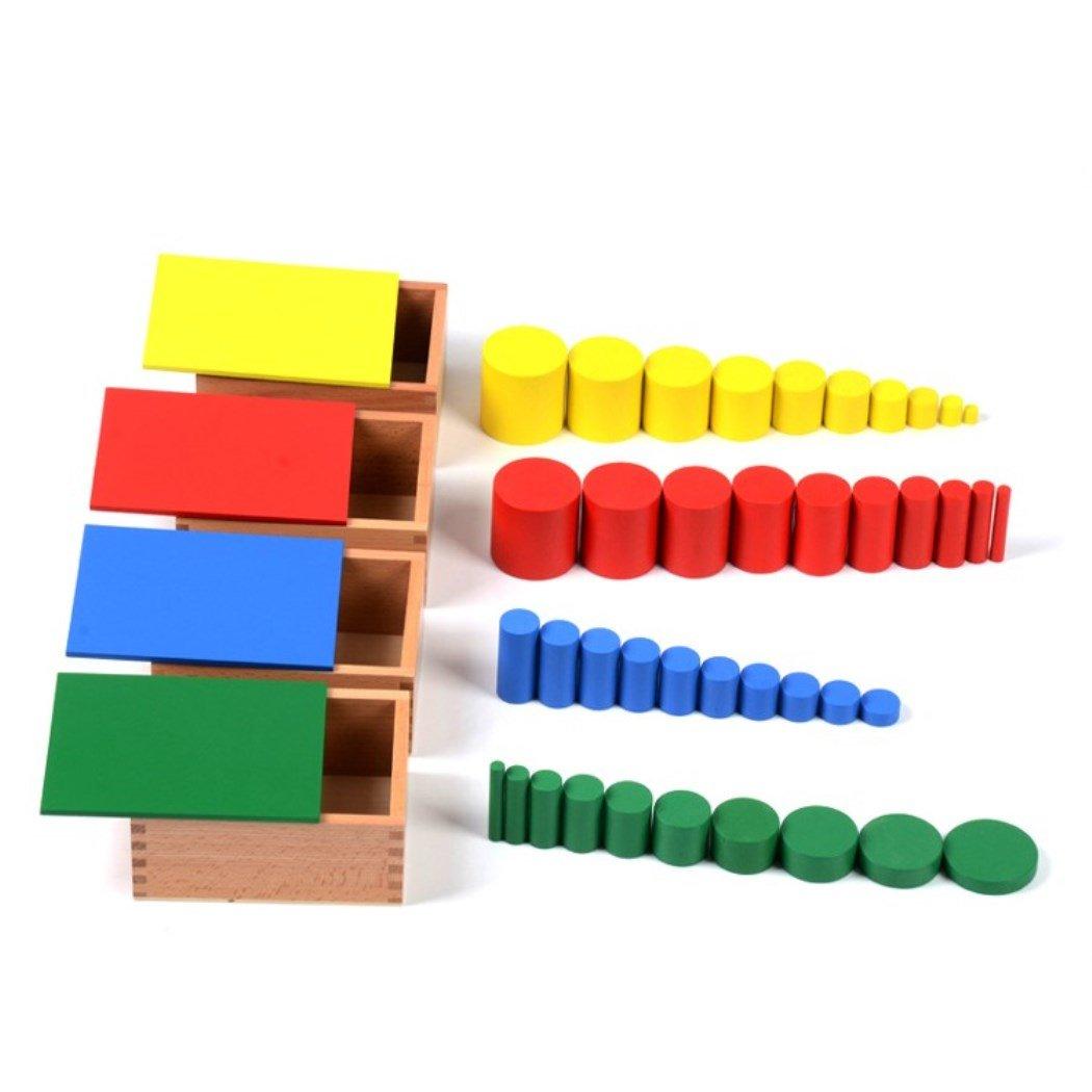 [D&Dディストリビューター]D & D Distributor Montessori Knobless Cylinders 3971419 [並行輸入品]   B00784HJPK