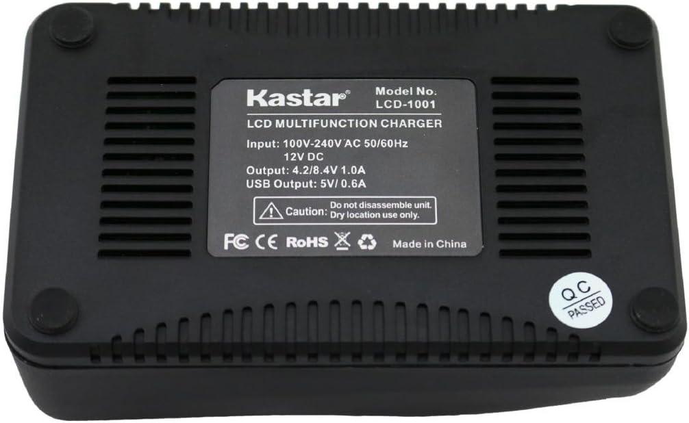VG-140 VG-145 Kastar Ultra Fast Charger VG-120 VG-110 Over 3x faster than a normal c D-710 Kit for Olympus Li-70B VG-160 D-715 FE-4020 3X faster Li-70C work with Olympus D-700 X-940 FE-4040 FE-5040 D-705 VG-130 D-745 VG-150 X-990 Cameras
