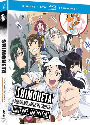 Blu-ray : Shimoneta: A Boring World Where The Concept Of Dirty Jokes Doesn't Exist (With DVD, Boxed Set, , 4 Disc)