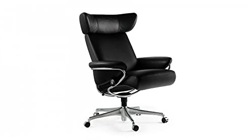 Stressless sessel jazz  Stressless® Jazz Home Office (M) Schwarz Bürostuhl Chefsessel ...