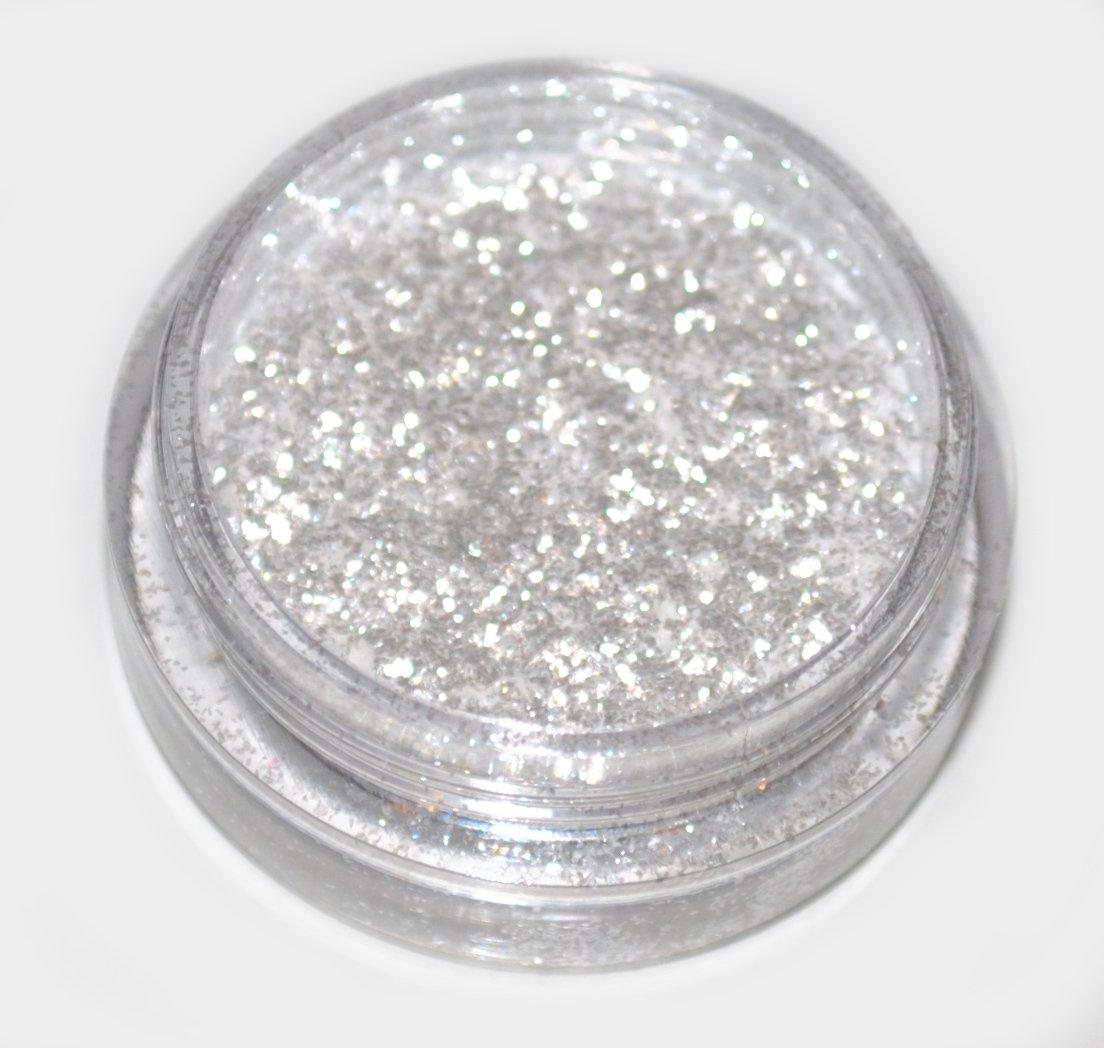 Snow White Diamond Eye Shadow Loose Glitter Dust Body Face Nail Art Party Shimmer Make-Up Kiara H&B